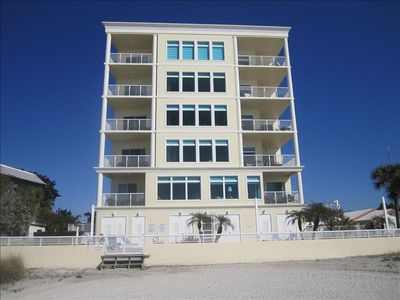 Sea Star beach front exterior