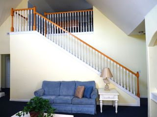 Runaway Beach Resort condo photo - Stairs lead up to Loft (additional area for fun, socializing, and games)!