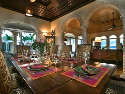 Kismet St. John Virgin Islands - Formal dinning room