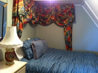 Frankfort apartment rental - Small bedroom with double size bed