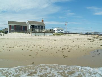 Dennisport house rental - Beachfront Vacation Cottage (front view)