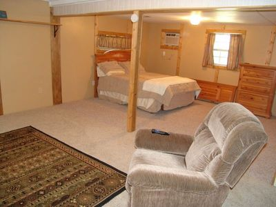 Camdenton cabin rental - Huge Basement, Rec Room Area