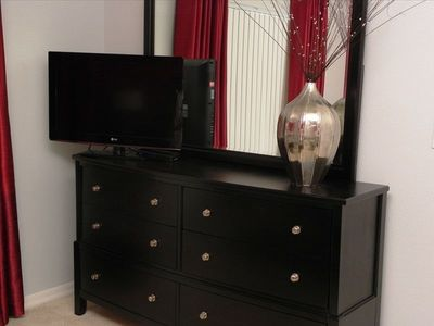 Rolling Hills house rental - New large flat screen HDTV in Master.