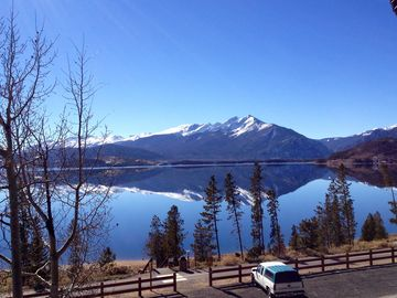Dillon condo rental - Gorgeous view of Lake Dillon from our deck (photo taken Nov 12, 2013)