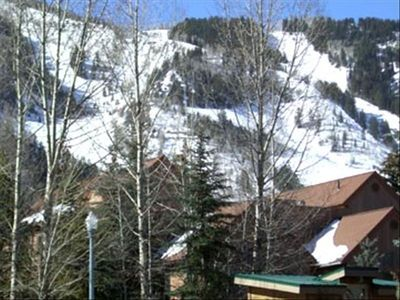 View of Aspen Mt. from the Balcony