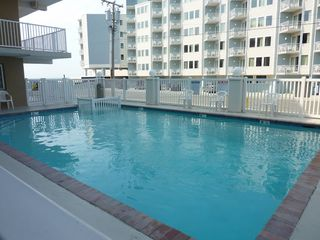 Wildwood Crest condo photo - close up of the pool