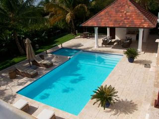 Punta Cana house photo - jacuzzi and pool