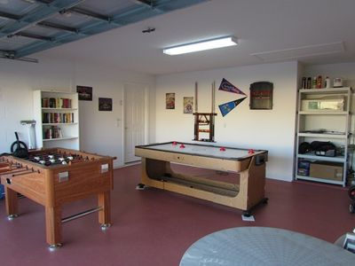Fully equipped games room