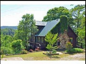 Calico Rock house rental - The House on the Rock is located in the Ozark National Forest.
