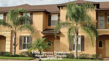 Regal Palms house rental - 4 Bed 3 Bath Townhome - Villa Front