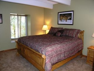 Warriors Mark Breckenridge condo photo - Master Bedroom, King Bed - Very Plush...Sleep Tight!