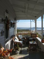 Saco farmhouse photo - Cristina's: Front Porch