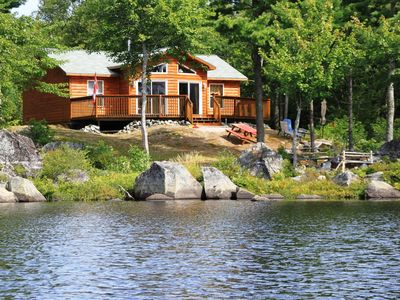 Vacation home on Ponhook Lake