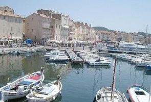 St. Tropez old port nearby