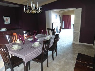 Qualicum Beach house rental - Diningroom