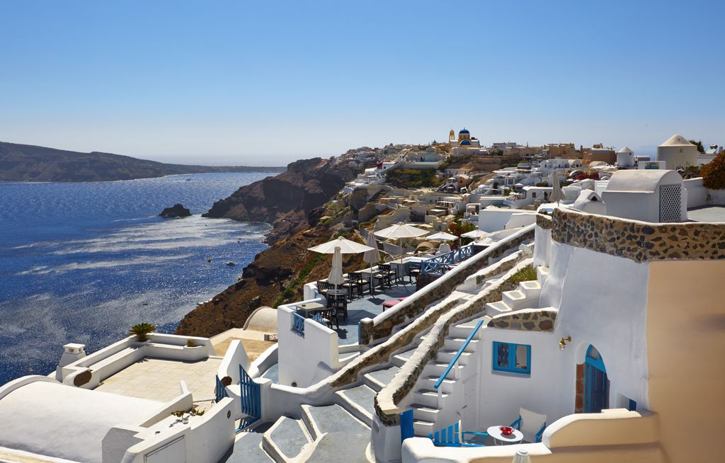 Kristy Cave House Is A Traditional Cave House With Stunning View To The Caldera - Santorin - maison