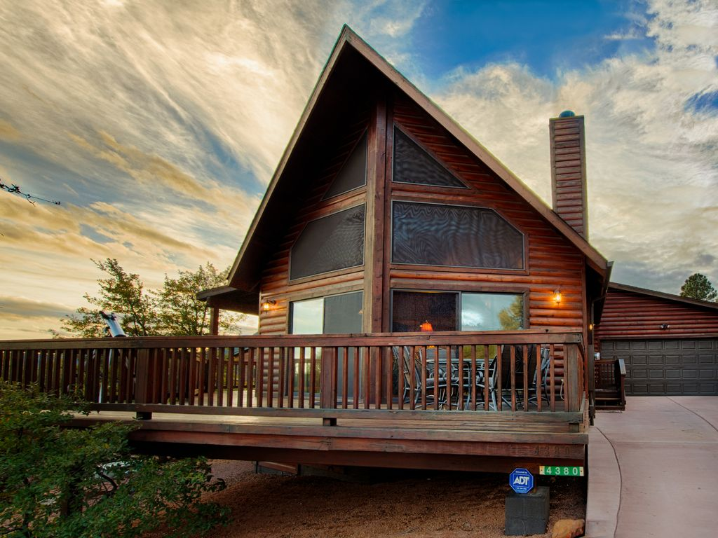 New listing stunning log a frame cabin vrbo for Log a frame cabins