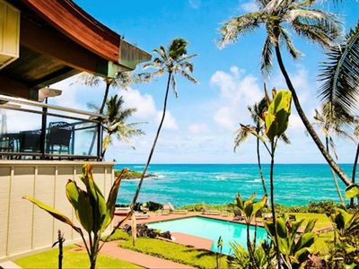 Fabulous beachfront location in kapaa!