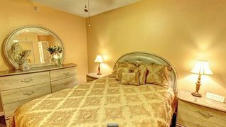 Indian Rocks Beach condo photo - Master bedroom featuring a queen size bed, full closet and flat screen TV.