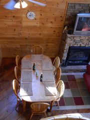Pigeon Forge cabin photo - Dining Table for 8