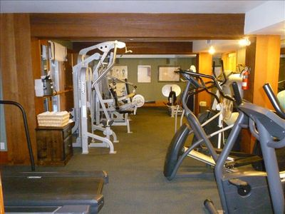 Exercise Room: Adjacent to Steam Room and Shower facility