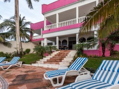 You'll feel like royalty at this Cozumel villa