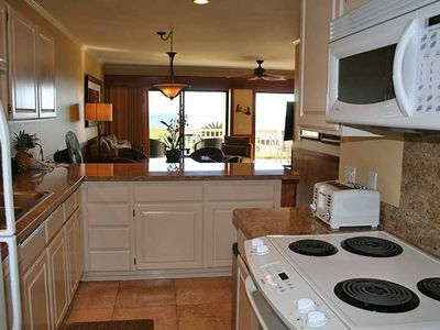 Fully equipped kitchen - with views!