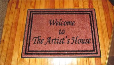 Frederick house rental - Doormat