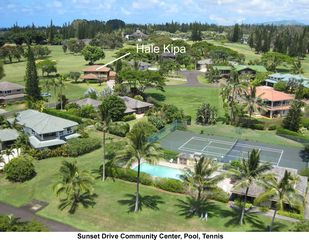 Princeville house photo - Sunset Drive Community Center, Pool, Tennis
