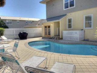 Frangista Beach house photo - Pool also has access to half bath
