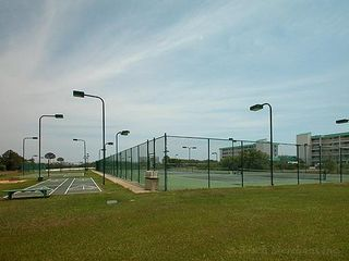 Gulf Shores condo photo - More Tennis Courts, Shuffle Board, Horseshoes & Basketball