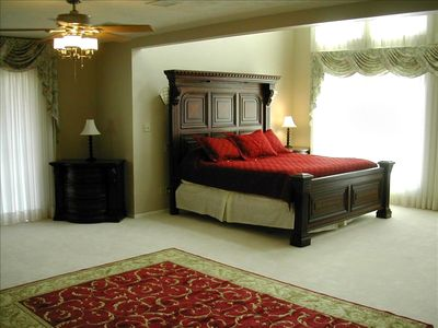 Large Master Bedroom & Bath