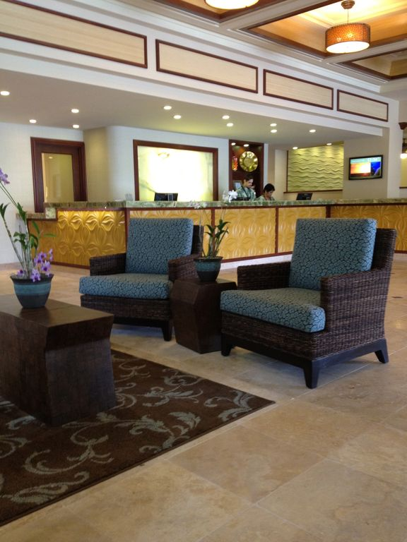 Check in at the our beautiful lobby