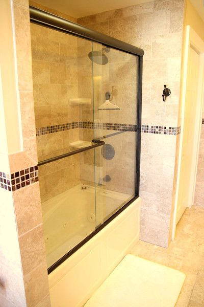 Brand new high-end fully tiled bathrooms. There's even a bidet/heated seat!