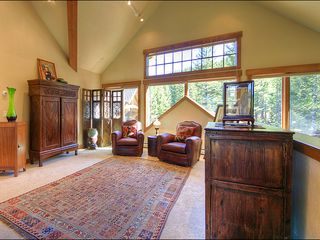 Big Sky house photo - The Loft is a great place to relax with a book or some tea