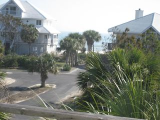 St George Island house photo - View From our East Deck