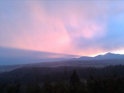 Another sunset over Jay Peak