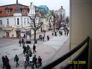 Sopot apartment photo - view of Crooked House