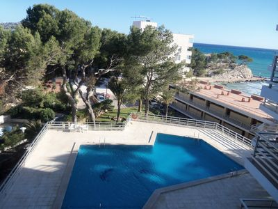 A7. Flat in fron of beach, Paguera