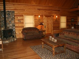 Farmington cabin photo - Living room