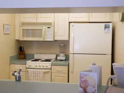 Fully Functional Kitchen. Everything you might need while on vacation!