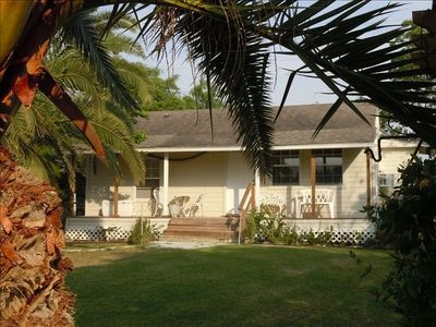 Baffin Bay Palms Cottage Plus Rv Parking with 300'  Pier &Pool