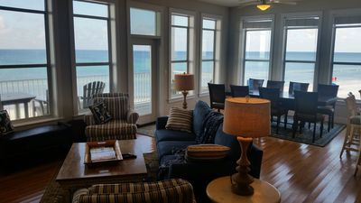 About Time on 30A~4 Beach Front KING SUITES w balconies ~6 SMART TVs~Sunset view