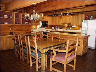 Snowmass Village house photo - Dining Room and Kitchen