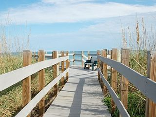 Hutchinson Island condo photo - Walk right over the Dune and enjoy a Mile of Beach Front Acces