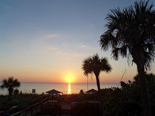 Manasota Key condo photo - Sunset View from Private Balcony