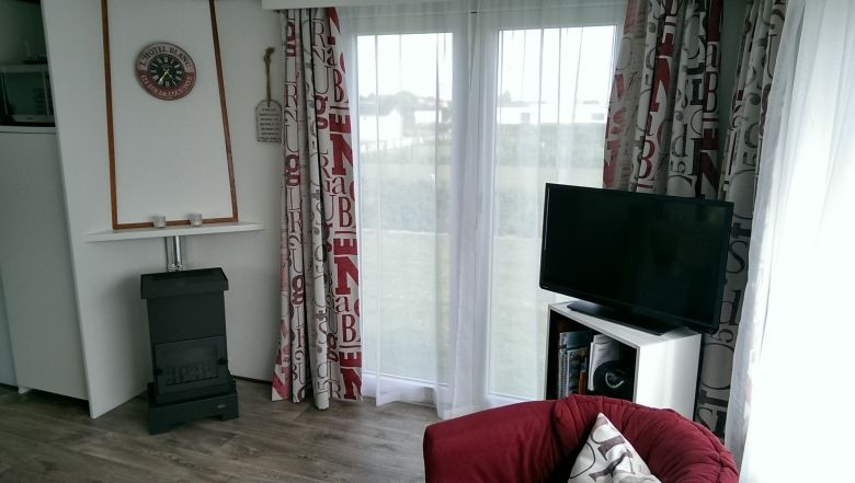 Comfortable holiday chalet on Zeeland incl W-Lan