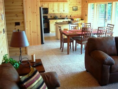 Gorgeous lake place on lac courte oreilles vrbo Home rental furniture hayward