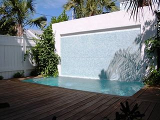 Key West villa photo - One of two heated pools