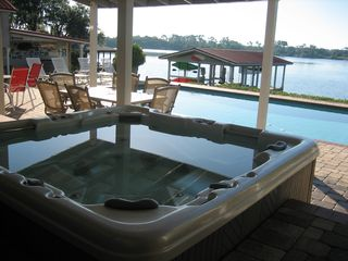 Winter Haven house photo - Spa, Pool, Lake